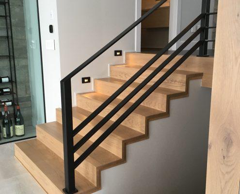Escaliers en bois Rive-Nord de Montréal - Escaliers J. Desjardins